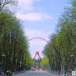 Пасхальні візерунки в Центральном парке развлечений Харькова
