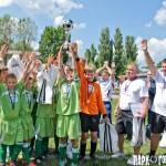 Киевская детская сборная по футболу завоевала право представлять Украину на финале Международного Кубка Наций Данон